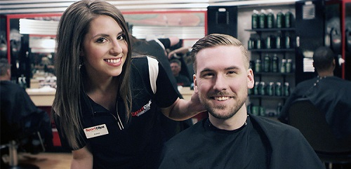Sport Clips Haircuts of Milford MA ​ stylist hair cut